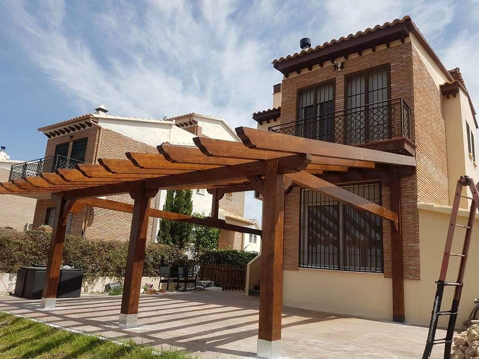 pergolas en Granada