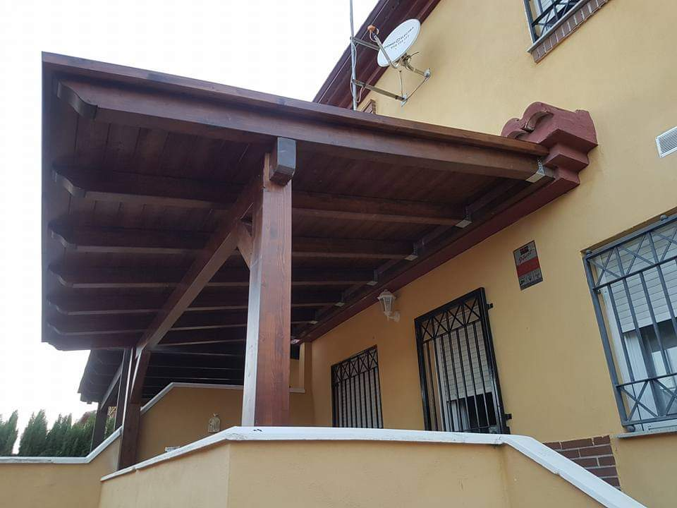Fabricantes de porches de madera