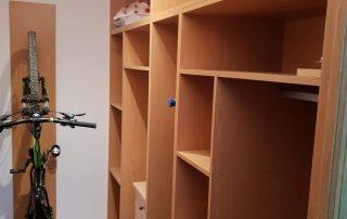 Instalacion de armarios de madera