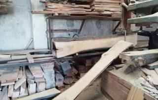 madera noble en bruto