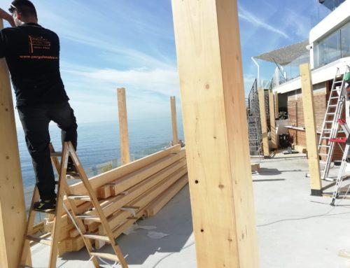 Protección de la madera en el Exterior.