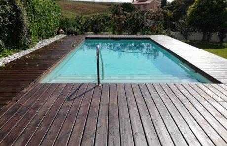 Maderas nobles para piscinas